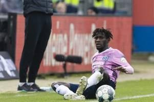 Zwei Spiele Sperre für HSV-Profi Jatta