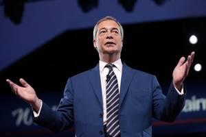 Farage hilft Johnson: Brexit-Partei kommt Tories vor Unterhauswahl entgegen