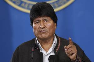 machtvakuum in bolivien