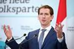 Österreich - Kurz nimmt Koalitionsverhandlungen mit den Grünen auf