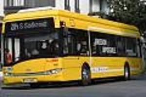 elektro-busse bei der bvg - diesel-aus bei bussen kostet steuerzahler drei milliarden euro - allein in berlin