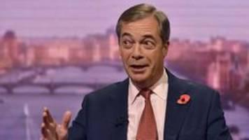 Brexit-Partei tritt bei Neuwahlen nicht gegen Tories an