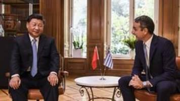 china festigt beziehungen zu griechenland  und eu