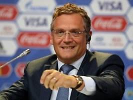 Korrupter Ex-Fifa-Vize klagt: Valcke sieht seine Menschenrechte missachtet