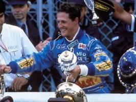 Mit Drama zum ersten F1-Triumph: Wie Schumacher sich zum WM-Titel litt