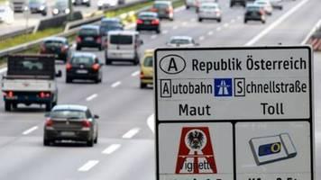 Österreich will mehrere grenznahe autobahnen von mautpflicht befreien