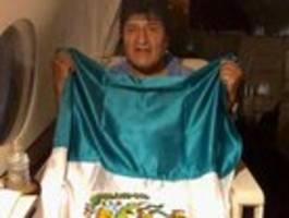 Evo Morales flieht nach Mexiko