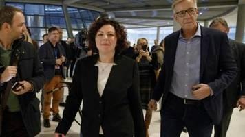 Amira Mohamed Ali und Bartsch bilden neue Spitze der Linken-Bundestagsfraktion