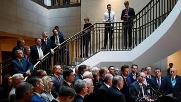 Erste öffentliche Aussagen: Ermittlungen gegen Donald Trump: Möge die Impeachment-Party beginnen