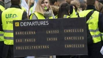 UFO und Lufthansa einigen sich auf Schlichtung