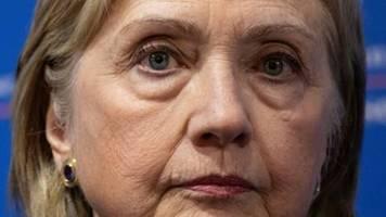 Clinton: Blockade von Russland-Bericht durch britische Regierung beschämend