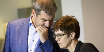 CDU uneins über Grundrente: Vorhang zu und alle Fragen offen