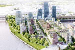 Neuer Stadtteil in Hamburg: Auf dem Grasbrook sollen 3000 neue Wohnungen entstehen