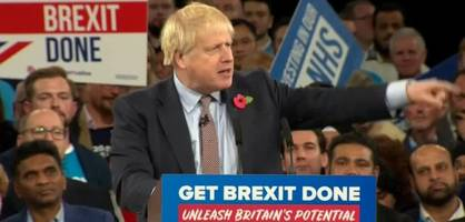 Boris Johnson verspricht Brexit im Januar
