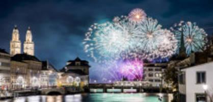 Zürich: Feuerwerk an Silvester soll klimaneutral werden