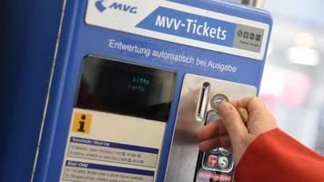 Ein Ticket für alle: Verkehrsverbund MVV will sich ausweiten
