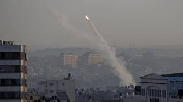 Israel: Erheblicher Raketenbeschuss aus Gaza nach Tod von Dschihadisten-Führer