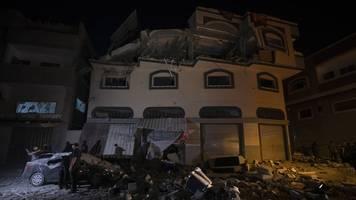 Nächtlicher Angriff in Gaza: Israel tötet gezielt einen Anführer des Islamischen Dschihad