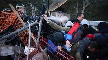 Spanien: Polizei löst Blockade an französischer Grenze auf
