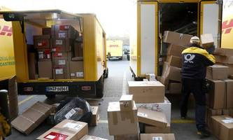 Deutsche Post profitiert vom boomenden Onlinehandel