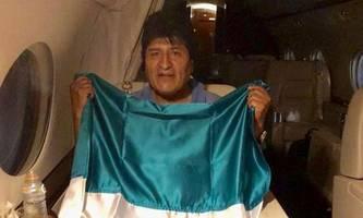 Morales im Exil: Schwestern und Brüder, ich breche nach Mexiko auf