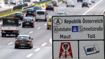 Österreich plant maut-ausnahmen in grenznähe