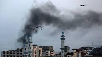 Israel reagiert mit Luftangriffen auf neuen Beschuss aus dem Gazastreifen