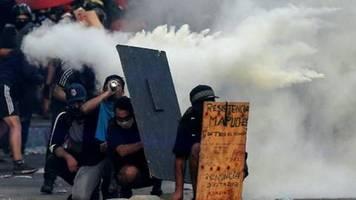 Zehntausende Chilenen protestieren erneut gegen die Regierung