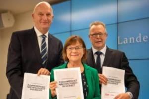 Parteien: CDU-Mitgliederbefragung zu Kenia-Koalition: Ergebnis