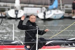 Greta Thunberg segelt zur Weltklimakonferenz nach Madrid
