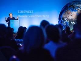 Anstrengungen gegen Klimawandel: Merkel redet Industrieländern ins Gewissen