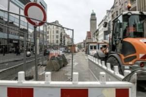 bauarbeiten: wegen bauarbeiten: verkehr in nord-neukölln wird umgeleitet