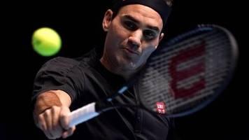 ATP Finals: Federer wirft Djokovic raus - Zverev unter Druck