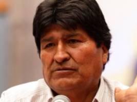 Evo Morales: Ich bin weiterhin Präsident