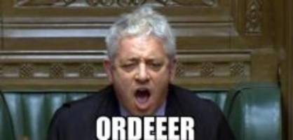john bercow: «mr. oooorder» kommt nach interlaken