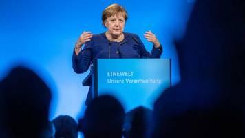 Klimawandel: Merkel warnt: Erdtemperatur würde bei jetzigen Klimazielen um drei Grad steigen