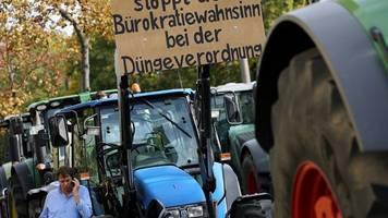 Hamburg: Landwirte protestierten mit rund 4.000 Traktoren