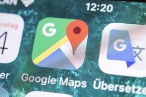 Google Maps bekommt Übersetzungsfunktion