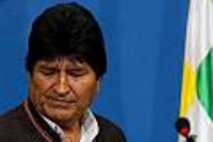 Zwei weitere Tote bei Protesten - Morales klammert im Exil an der Macht - in Bolivien sterben immer mehr Menschen