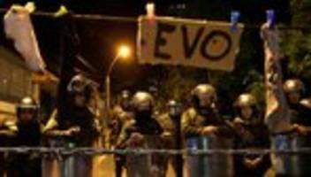 vereinte nationen: evo morales bittet un um vermittlung in bolivien