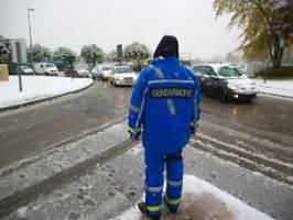 hunderttausende ohne strom: schnee sorgt in frankreich für chaos