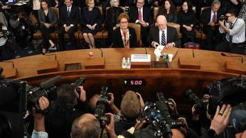 Impeachment-Anhörung: Trump nennt Anhörung Witz und Schande – Bin transparentester Präsident der Geschichte