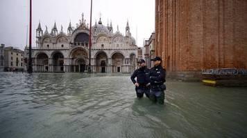 Überflutungen: Das Wasser kommt zurück – Venedig in Angst vor neuer Zerstörung