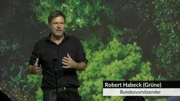 Video: Grünen-Chef Habeck wirbt für Green-New-Deal