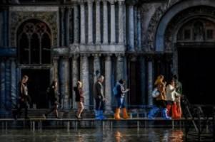 Weitere Wassermassen erwartet: Noch keine Hochwasser-Entwarnung für Venedig