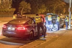 Hamburg: Polizei auf Einbrecherjagd im Norden – an großen Straßen