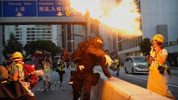 Proteste in Hongkong: Erneut Toter bei Demonstrationen