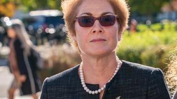 Newsblog zum Impeachment: Frühere US-Botschafterin in der Ukraine sagt öffentlich aus
