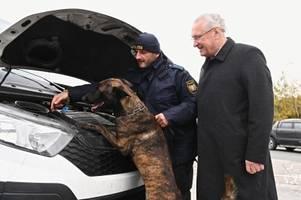herrmann: zahl der wohnungseinbrüche sinkt dank polizeikontrollen
