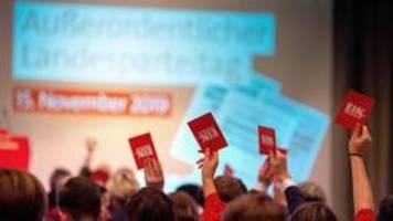 Brandenburgs SPD fast einstimmig für Kenia-Koalition